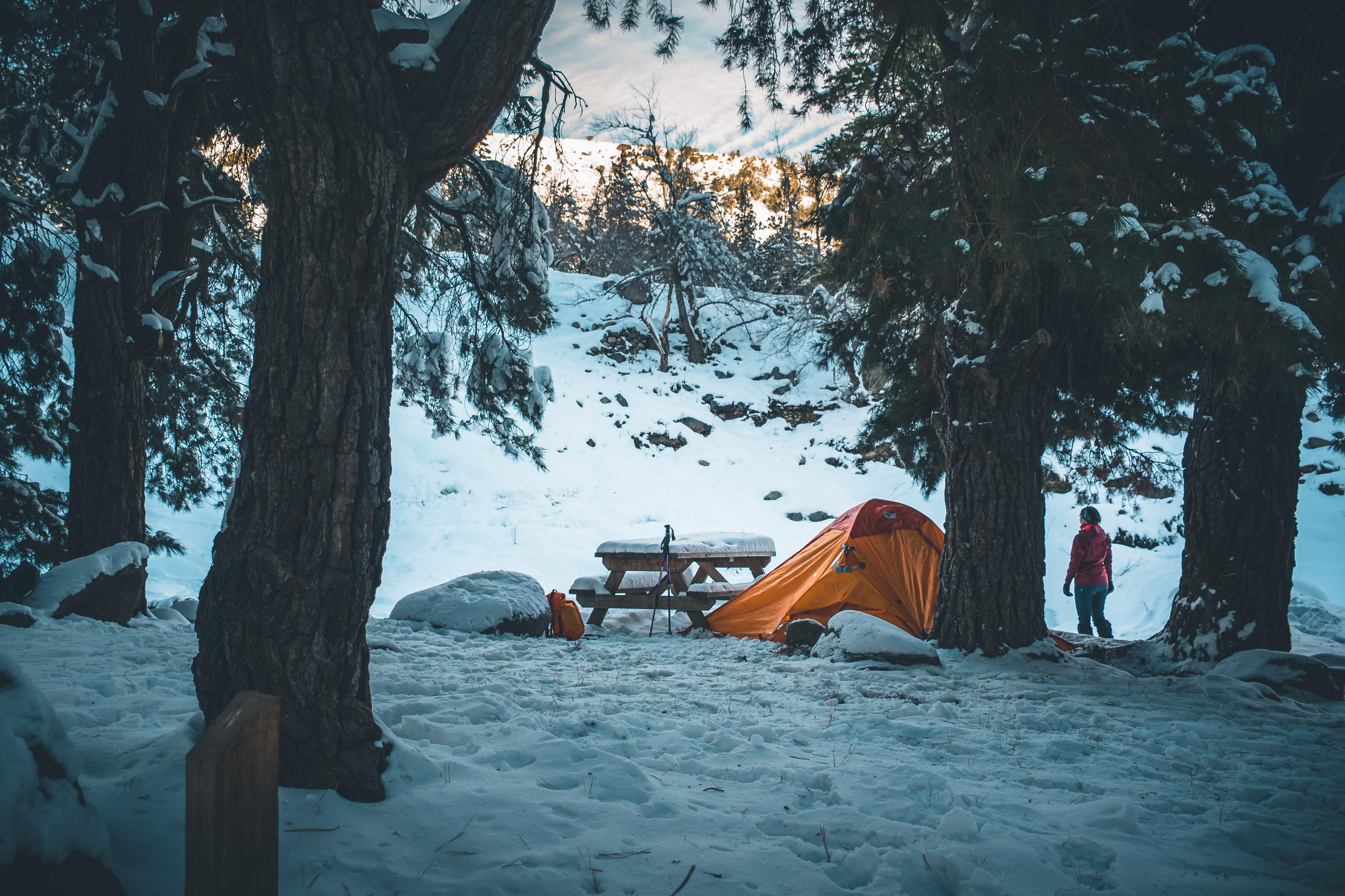 Camping en Yerba Loca